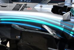 Mercedes-AMG F1 W09 detalle aero