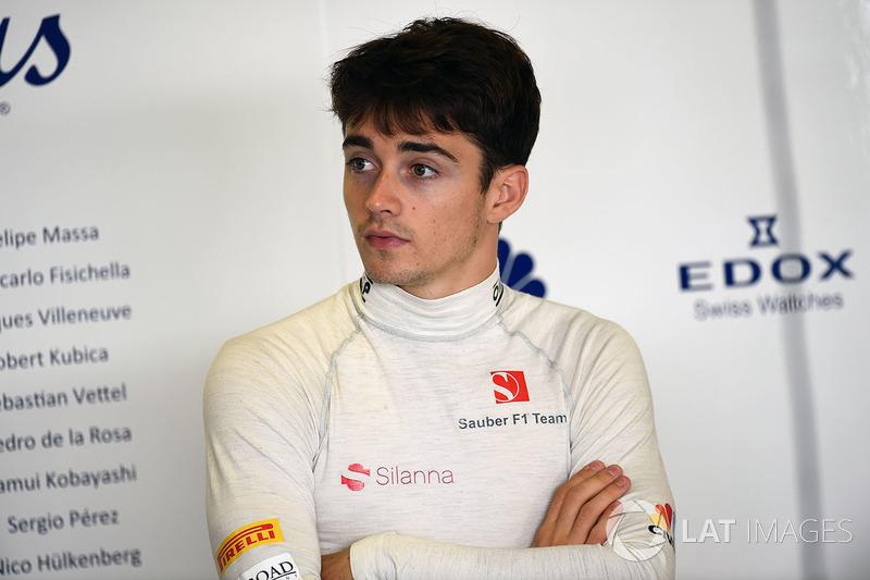 Sauber - Charles Leclerc (Confiemado)