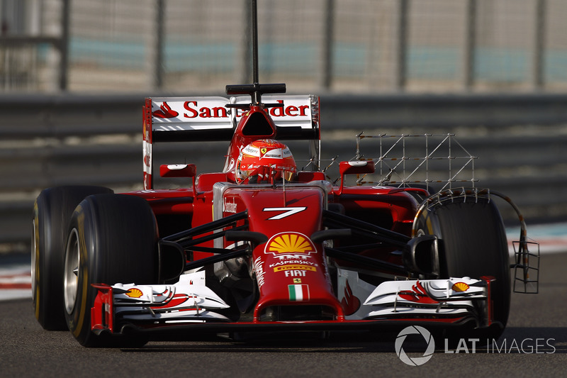 2014. Кімі Райкконен, Ferrari F14T
