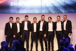Line-up 2018, Alexander Sims, Philipp Eng, Nick Catsburg, António Félix da Costa, Martin Tomczyk, Augusto Farfus, Tom Blomqvist and Jens Marquardt BMW Motorsport Director.