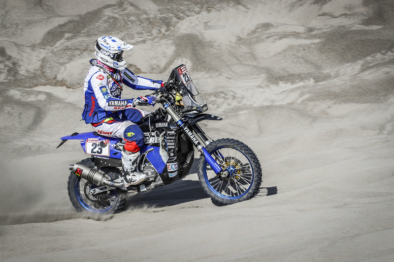 #23 Yamaha Official Rally Team: Xavier De Soultrait