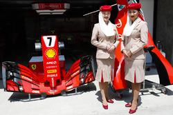 Etihad crew bij Ferrari