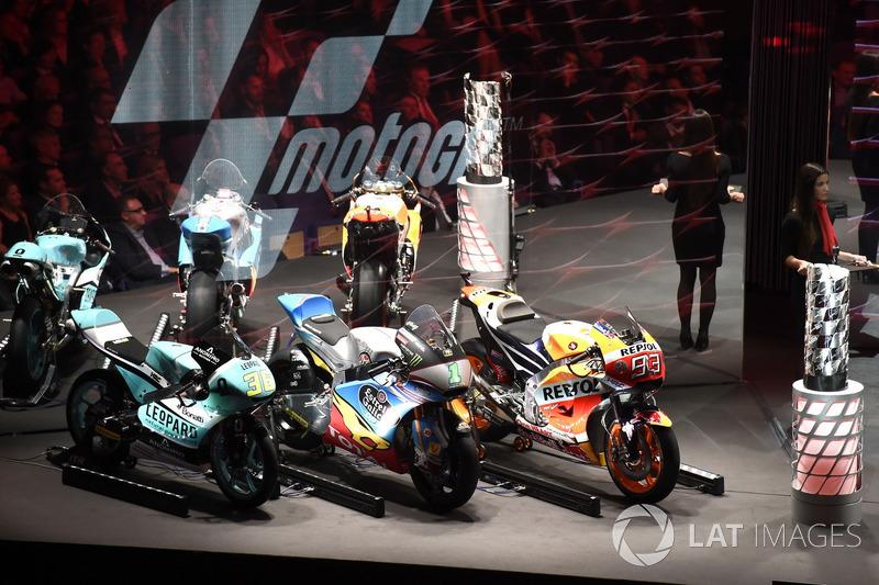 Motos de los campeones