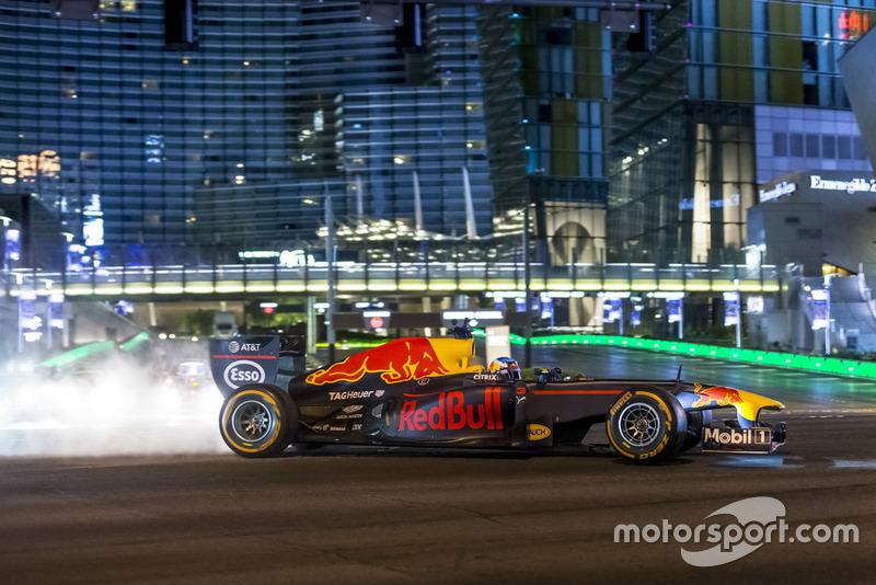 Daniel Ricciardo, Red Bull Racing di Las Vegas