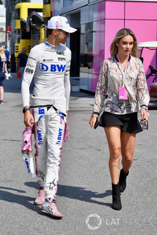 Естебан Окон, Racing Point Force India F1 Team