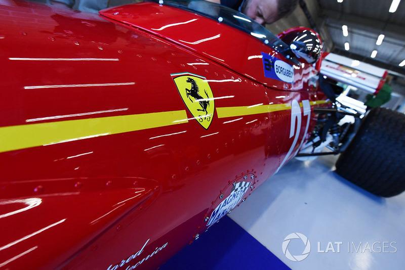 Detail Ferrari 312B