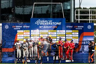 Atmosfera sul podio