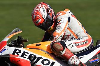 Marc Marquez, Repsol Honda Team después del accidente
