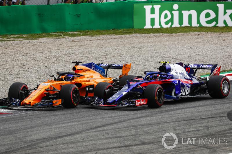 Фернандо Алонсо, McLaren MCL33, П'єр Гаслі, Toro Rosso STR13