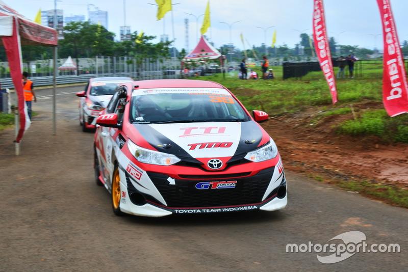 Haridarma Manopo, Toyota Team Indonesia, ITCC 1600 Max