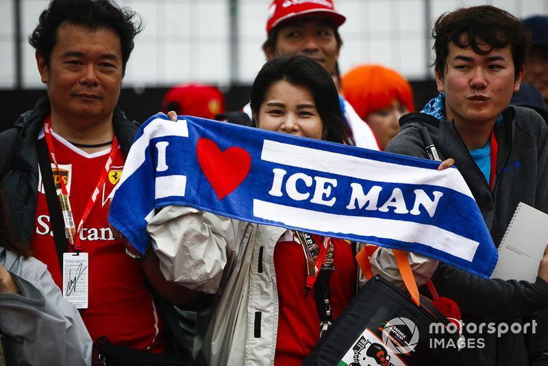 Fans of Kimi Raikkonen, Ferrari