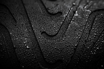 Intermediate wet tyre detail
