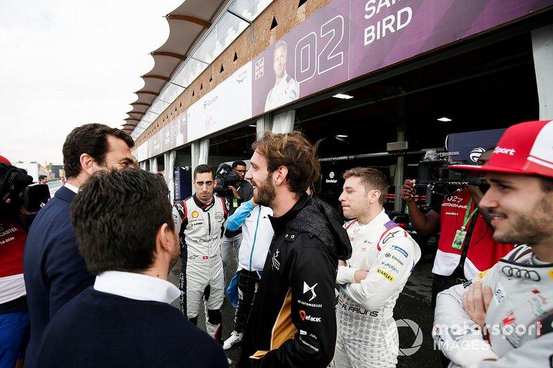 Sébastien Buemi, Nissan e.Dams, Jean-Eric Vergne, DS TECHEETAH, Robin Frijns, Envision Virgin Racing, Daniel Abt, Audi Sport ABT Schaeffler