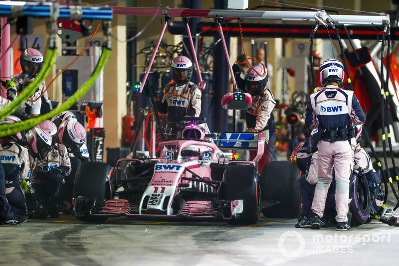 P8: Sergio Perez, Racing Point Force India VJM11