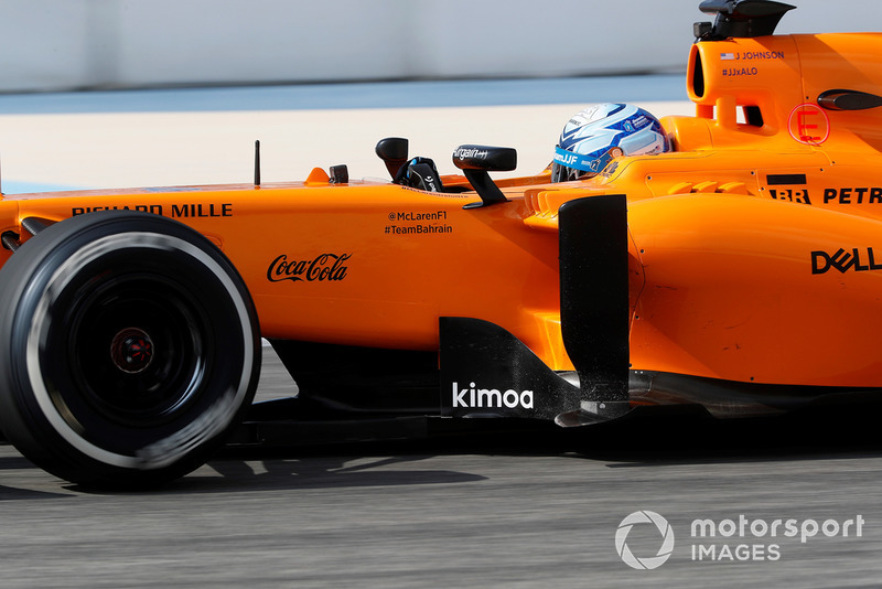 Jimmie Johnson en el McLaren