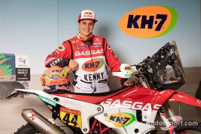 Laia Sanz, GASGAS Rally team launch