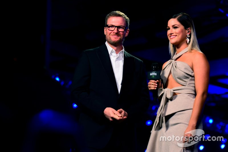 Dale Earnhardt Jr. and Cassadee Pope