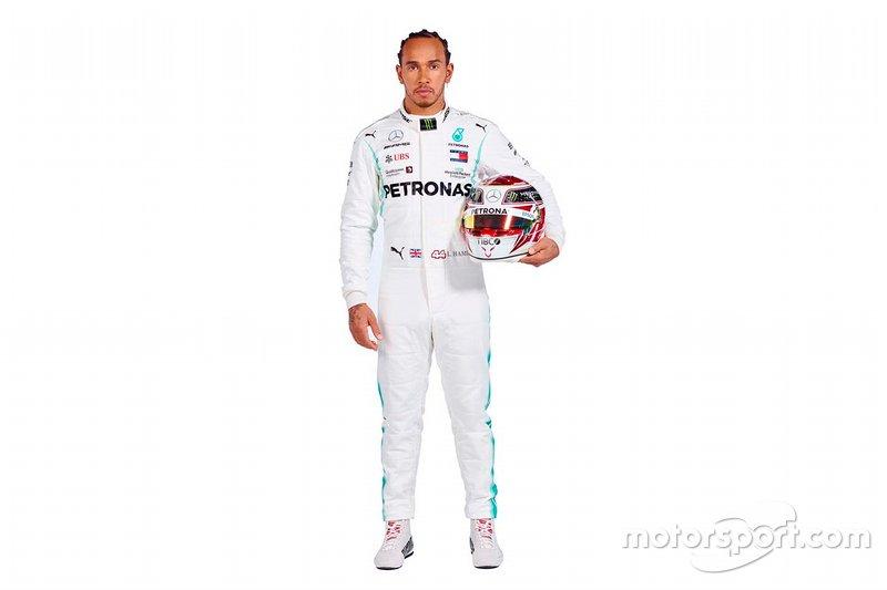 Lewis Hamilton szerelése
