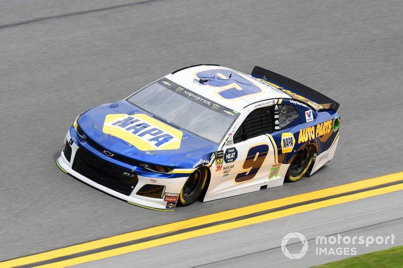 #9: Chase Elliott, Hendrick Motorsports, Chevrolet Camaro