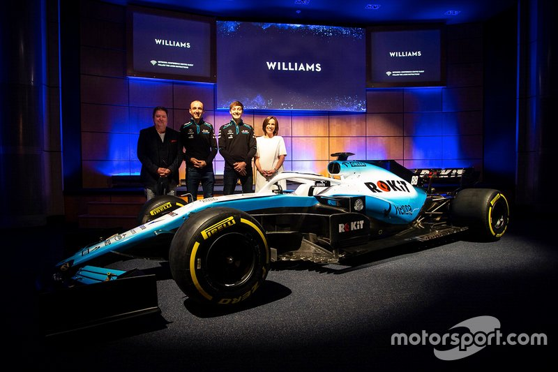 George Russell, Williams, Robert Kubica, Williams, Claire Williams