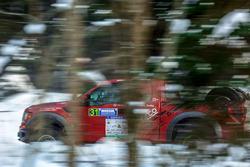 Юлия Мигнова-Хегай и Алдис Вилцанс, Ford F150 Raptor (№31)