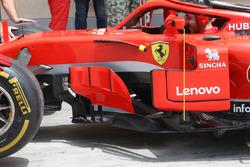 Ferrari SF71H ayna