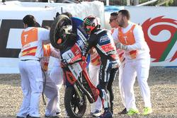 Marco Bezzecchi, Prustel GP post crash