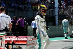 Lewis Hamilton, Mercedes AMG F1, parc ferme