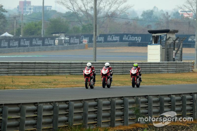 AP250: Rheza Danica, Mario Suryo Aji dan Awhin Sanjaya, Astra Honda Racing Team
