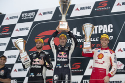 Podium: Race winner Jamie Whincup , Triple Eight Race Engineering Holden