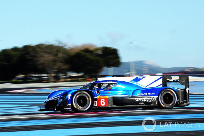 #6 CEFC TRSM RACING Ginetta G60-LT-P1: Oliver Rowland, Alex Brundle