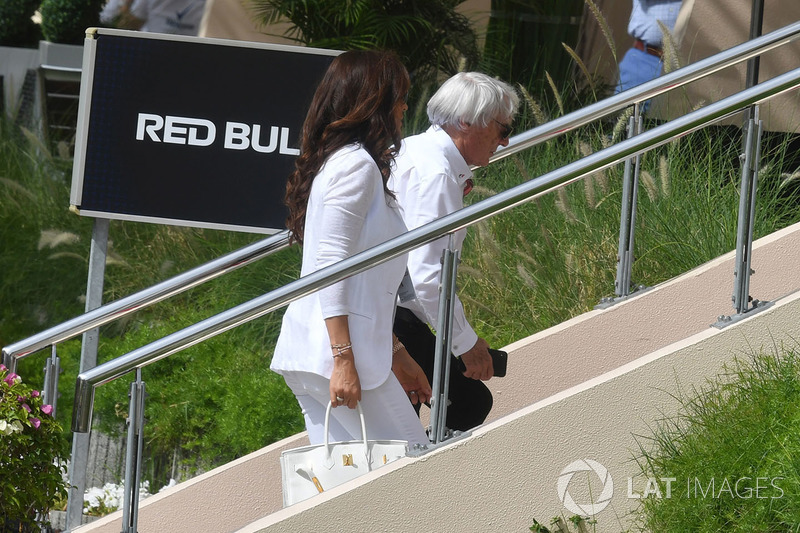 Bernie Ecclestone, dan Fabiana Ecclestone