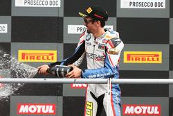 Podium STK1000: third place Roberto Tamburini