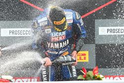 Podium SSP: ganador Sandro Cortese, Kallio Racing