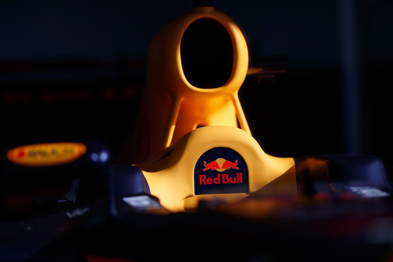 Red Bull Racing detalle de cabina