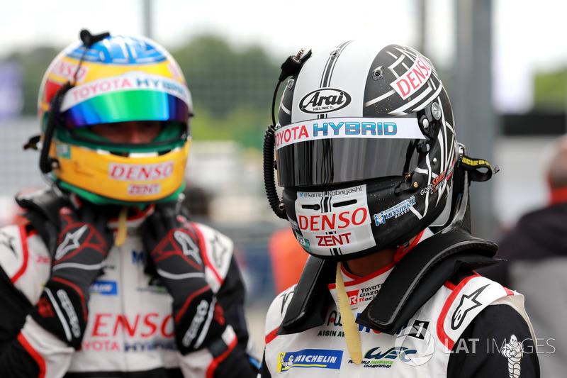 #7 Toyota Gazoo Racing Toyota TS050: Mike Conway, Kamui Kobayashi
