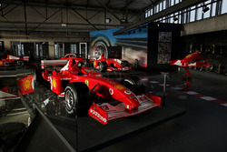 Formula 1 cars of Michael Schumacher