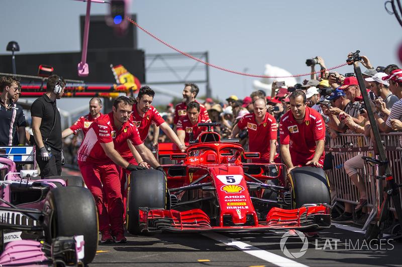 Mecánica de Ferrari con Ferrari SF71H