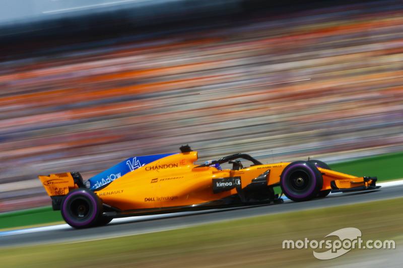 Fernando Alonso - McLaren: 7