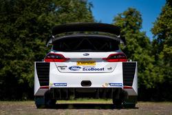 Задня частина M-Sport Ford Fiesta WRC