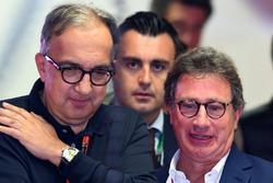 Sergio Marchionne, CEO FIAT e Louis Camilleri, Presidente di Philip Morris