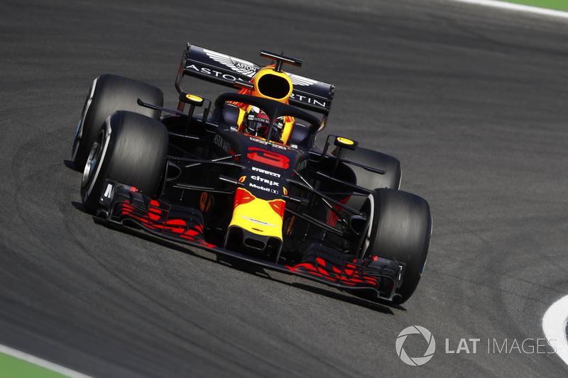 19. Daniel Ricciardo, Red Bull Racing RB14