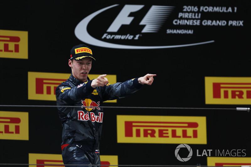 Daniil Kvyat, Red Bull Racing, tercer lugar