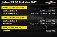 Jadwal F1 GP Meksiko