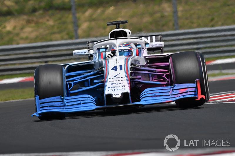 Олівер Роуленд, Williams FW41