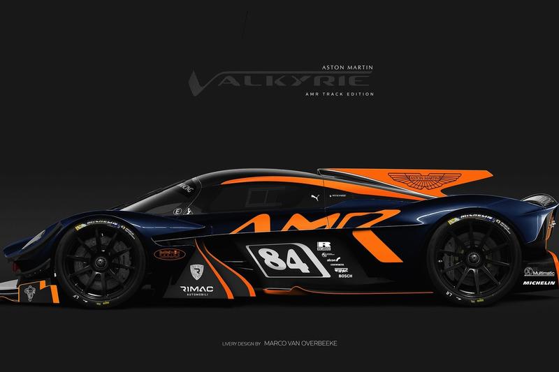 Aston Martin Valkyrie - ескіз