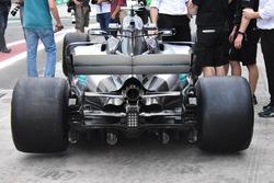 Arrière de la Mercedes-Benz F1 W08
