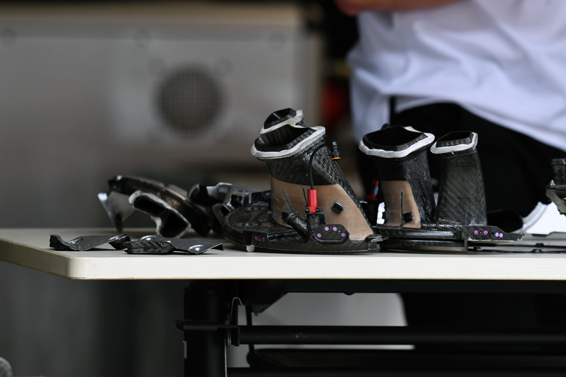 Mercedes-AMG F1 W09 brake duct detail
