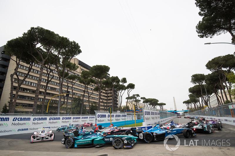 Nicolas Prost, Renault e.Dams, Maro Engel, Venturi Formula E Team, Jose Maria Lopez, Dragon Racing