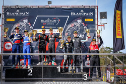 Podium Silver: Race winner #3 Team WRT Audi R8 LMS: Gilles Magnus, Alessio Picariello, #35 SMP Racing by Akka ASP Mercedes-AMG GT3: Vladimir Atoev, Alexey Korneev, #90 Akka ASP Team Mercedes-AMG GT3: Jack Manchester, Nico Bastian